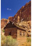 Historic School House, Fruita Settlement, Capitol Reef National Park, Utah