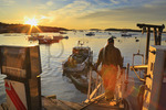 Sunrise, Stonington Harbor, Maine, USA