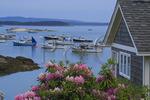 Stonington Harbor, Maine, USA