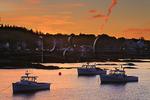 Sunrise, Stonington Harbor, Maine, USA