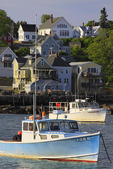 Stonington Harbor, Maine, USA
