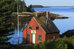 Mark Island Light, Stonington, Maine, USA