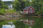 Lobster dock, South Brooksville, Maine, USA