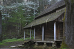 Tipton Cabin, Cades Cove, Great Smoky Mountains National Park, Tennessee, USA