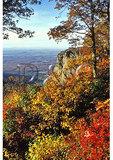 View of Ravens Roost, Blue Ridge Parkway, Virginia