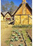 Garden in the fort, Jamestown Settlement, Virginia