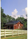 Eight Maples Barn near Fincastle, Shenandoah Valley of Virginia