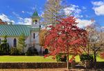 Grace Memorial Episcopal Church, Shenandoah Valley, Port Republic, Virginia, USA