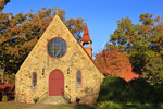 Gibson Memorial Chapel, Blue Ridge School, Saint George, Virginia, USA