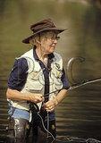 Fly Fishing, Millboro Springs, Shenandoah Valley, Virginia