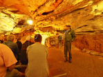 Domes and Dripstones Tour, Mammoth Cave National Park, Park City, Kentucky, USA