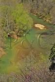 Green River, Green River Bluffs Trail, Mammoth Cave National Park, Park City, Kentucky, USA