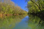 Green River Ferry, Mammoth Cave National Park, Park City, Kentucky, USA