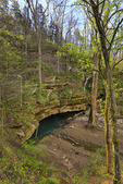River Styx Spring, River Styx Spring Trail, Mammoth Cave National Park, Park City, Kentucky, USA