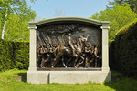 Shaw Memorial, Saint_Gaudens National Historic Site, Cornish, New Hampshire, USA