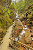 The Gorge at the Flume, Franconia Notch State Park, Franconia Notch, New Hampshire, USA