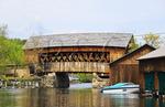 Squam River Bridge, Holderness, Hew Hampshire, USA