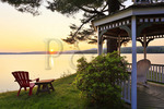 The Lake House at Ferry Point Inn, Winnisquam Lake, Sanbornton, New Hampshire, USA