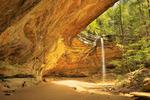 Ash Cave, Hocking Hills State Park, Logan, Ohio, USA