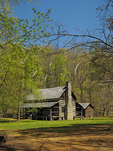 Double Pen House, Homeplace, Land Between The Lakes National Recreation Area, Dover, Tennessee, USA