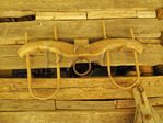 Ox Yoke, Tool Barn, Homeplace, Land Between The Lakes National Recreation Area, Dover, Tennessee, USA