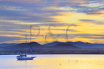 Essex_Charlotte Ferry Dock.view of Lake Champlain and the Adirondack Mountains. Charlotte, Vermont, USA