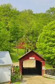 Green River Covered Bridge, Guilford, Vermont, USA