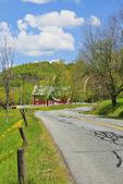 Farm on Pomfret Road, Woodstock, Vermont, USA