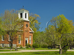 Meeting House, Shelburne Farms, Shelburne, Vermont, USA