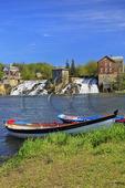 Vergennes Falls (the falls of Otter Creek), Vergennes, Vermont, USA