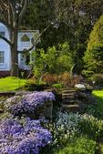 Formal Gardens, Marsh_Billings_Rockefeller National Historical Park, Woodstock, Vermont, USA