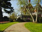 Mansion, Marsh-Billings-Rockefeller National Historical Park, Woodstock, Vermont, USA
