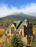 Chapel on the Rock, Peak to Peak Highway Near Estes Park, Colorado, USA