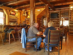 Restaurant, Blue Bell Lodge, Custer State Park, Rapid City, South Dakota, USA