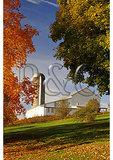 Barn and Foliage, Springhill, Shenandoah Valley, Virginia