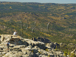Harney Peak Trail No. 9. Black Elk Wilderness, Custer State Park, Black Hills, Rapid City, South Dakota, USA