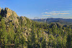 Needles Highway, Custer State Park, Black Hills, South Dakota, USA
