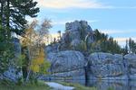 Sylvan Lake, Custer State Park, Black Hills, South Dakota, USA,