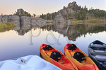 Sylvan Lake, Custer State Park, Black Hills, South Dakota, USA,