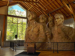 Artist Studio, Mt. Rushmore National Memorial, Rapid City, South Dakota, USA
