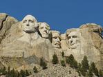 Mt. Rushmore National Memorial, Rapid City, South Dakota, USA