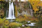 Spearfish Falls, Spearfish Canyon, Black Hills, Savoy, South Dakota, USA