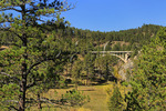 Entrance Road Bridge, Wind Cave National Park, Black Hills, Hot Springs, South Dakota, USA