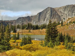 Bellamy Lake, Snowy Range Scenic Byway, Centennial, Wyoming, USA