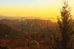 Sunrise, Black Balsum Access Road, Blue Ridge Parkway, North Carolina, USA