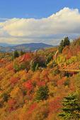 Sunset, Saco Gap Area, Blue Ridge Parkway, Grandfather Mountain, North Carolina, USA