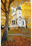 Presbyterian Church at Sunset, Zack, Shenandoah Valley, Virginia