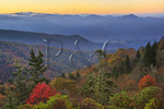 Sunrise, Looking East, Waterrock Knob, Blue Ridge Parkway, Sylva, North Carolina, USA