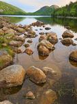 Jordan Pond Shore Trail, Acadia National Park, Mount Desert Island, Maine, USA