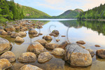 Jordan Pond Shore Trail, Acadia National Park, Mount Desert Island, Maine, USA